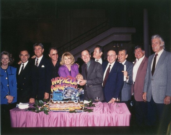 Twentieth anniversary party for police story tv series 1993